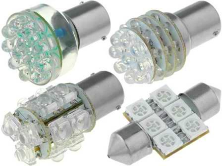 Светодиодные лампы уличного освещения на щелочных батареях