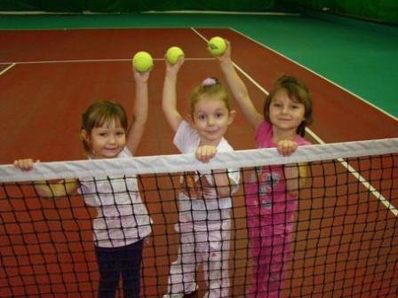 Обучение детей большому теннису
