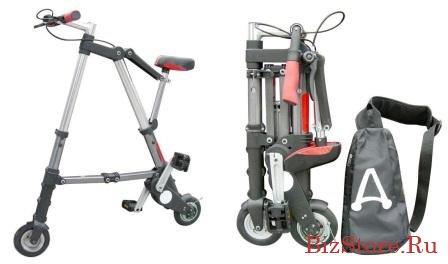 Складной мини-велосипед