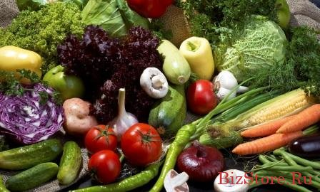 Овощи и фрукты из бомбоубежища