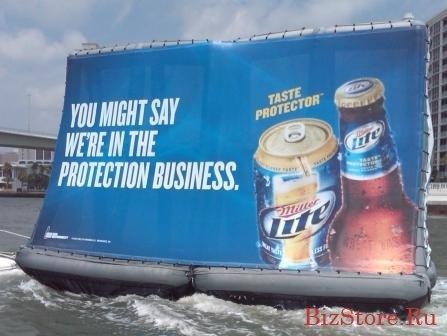 Надувной билборд