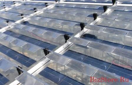 Автономная теплица на солнечных батарейках