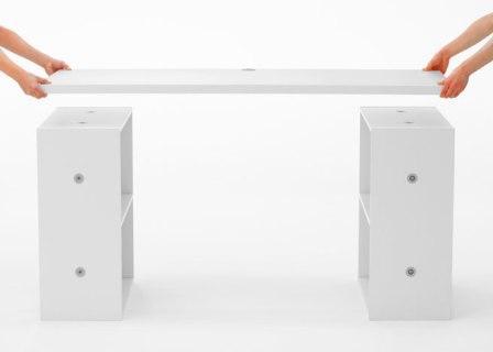 Корпусная мебель, не требующая инструмента и крепежа для сборки