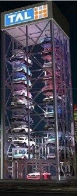 малогабаритные вертикальные многоярусные парковки