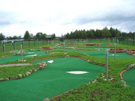 Бизнес идеи - гольф и мини-гольф