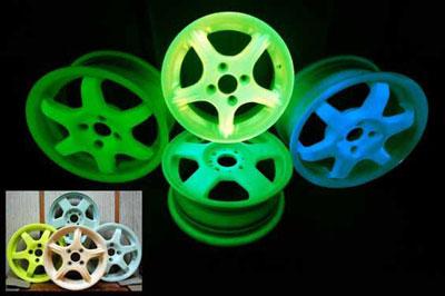 Ноу-хау для тюнинг ателье - элегантные светящиеся диски