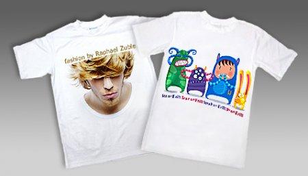 Нанесение изображений на футболки