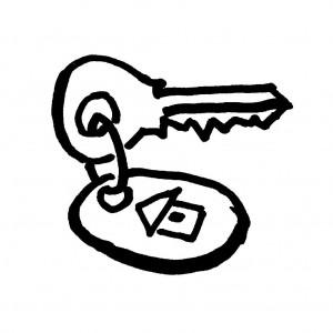 Бизнес-мысль: ключи на сохранность