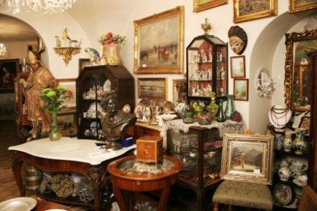 Бизнес-мысль: антикварный магазин